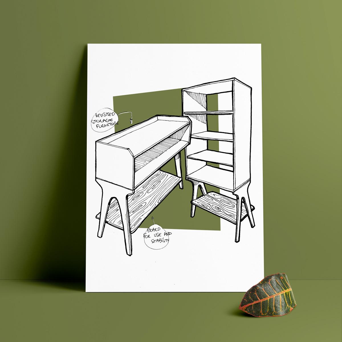 ZAGO design mobilier PI